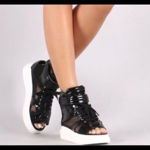 Shoes - Forever Faux Leather Sneaker